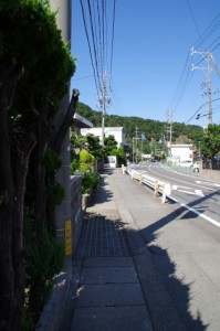 志摩赤崎駅から赤崎神社へ(国道167号線)