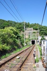 近鉄の隧道(赤崎神社付近)