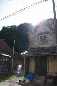旧広野家住宅から鳥羽城跡へ