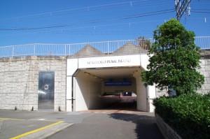 ミキモト真珠島へのトンネル