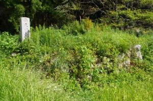 道標(19)(家建の茶屋跡付近)