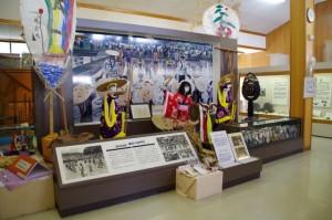 展示スペース(磯部郷土資料館 2階)