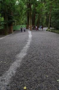 御正宮への参道(内宮)
