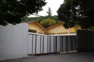 建設中の参集殿(内宮)