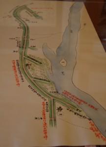 「宮川堤防之図」(模写)