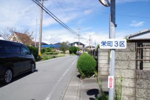 栄町3区(小社神社から狭田国生神社へ)