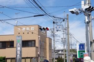佐田交差点(県道13号伊勢多気線)