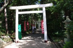 官舎神社から離宮院公園へ
