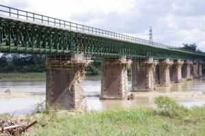 JRの鉄橋(宮川)
