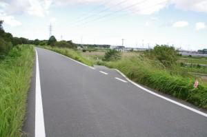 宮川右岸堤防道路から宇須乃野神社へ