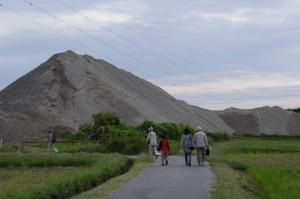 砂利山(櫛田神社付近)