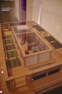 斎王御殿復元模型