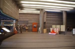 エントランスホール(斎宮歴史博物館)