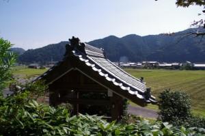 誕生寺からの風景