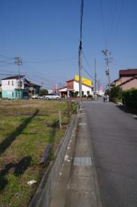 道標(み歴マ 初瀬 30)の設置跡へ