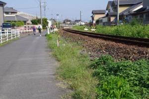 JR名松線(一志駅付近)