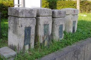 清浄坊橋(勢田川)付近