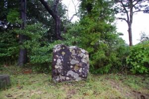 松尾芭蕉の句碑(鳥羽の日和山)