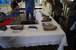 鳥羽城跡遺物展示 128