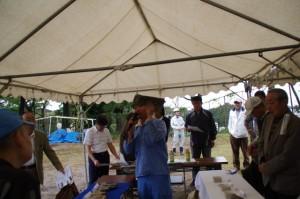 鳥羽城跡遺物展示 130