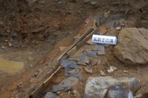 鳥羽城跡発掘現場 149