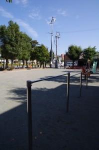 宮町公民館横の公園