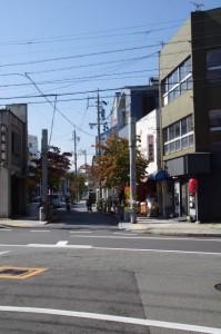 浦之橋商店街の入口