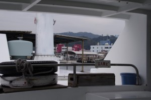 鳥羽港(佐田浜)から出港