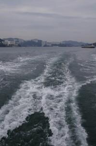 鳥羽港(佐田浜)から桃取漁港へ