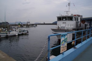 桃取漁港(答志島)