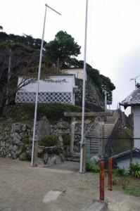 八幡神社(桃取)