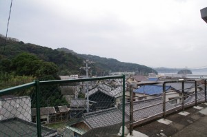 八幡神社(桃取)からの眺望