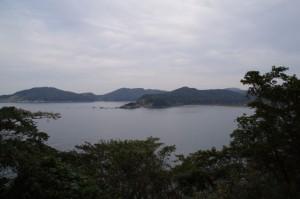 答志島スカイラインからの風景