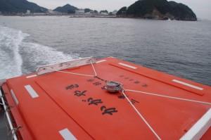 和具漁港から鳥羽港(佐田浜)へ