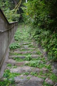 日和山(鳥羽)への階段