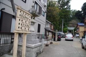 賀多神社の参道