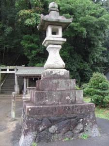 常夜燈(田丸神社)