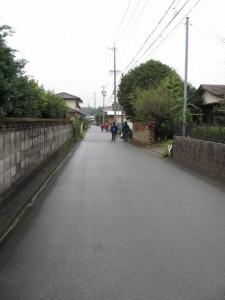 下田辺北交差点から坂手国生神社へ