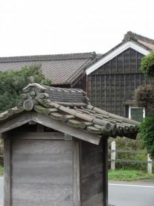 祠(下田辺北交差点から坂手国生神社へ)
