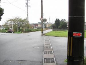 坂手国生神社への十字路(神社からの帰り)