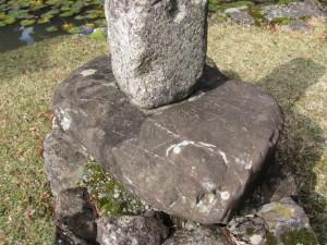 方位石(金剛證寺)
