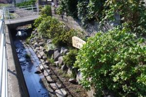 「斎王の道 初瀬街道」の看板(忘れ井へ)