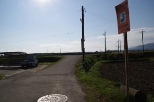 道標(み歴マ 初瀬 23)から左へ