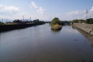 三渡川(み歴マ 伊勢(19)六軒-B 1)上流方向