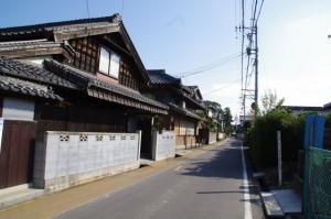 久米を行く街道(み歴マ 伊勢(20)久米-B 7)