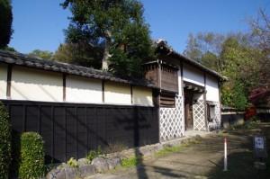 舟木家の長屋門(み歴マ 伊勢(20)久米-B 8)