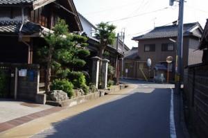 庚申堂(み歴マ 伊勢(20)久米-B 9)付近