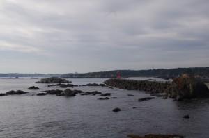 国崎漁港付近
