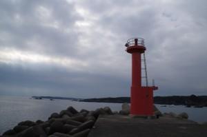 国崎漁港の灯台
