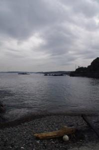 下の浜(神の島)へお参りに(二船祭)